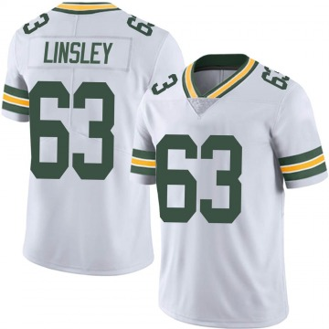 Men's Green Bay Packers Corey Linsley White Limited Vapor Untouchable Jersey By Nike
