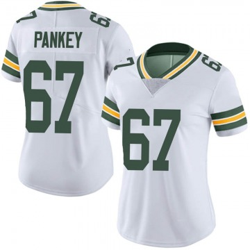 Women's Green Bay Packers Adam Pankey White Limited Vapor Untouchable Jersey By Nike
