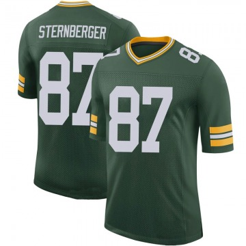 Youth Green Bay Packers Jace Sternberger Green Limited 100th Vapor Jersey By Nike