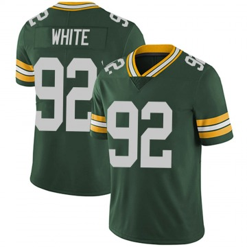 Youth Green Bay Packers Reggie White Green Limited Team Color Vapor Untouchable Jersey By Nike