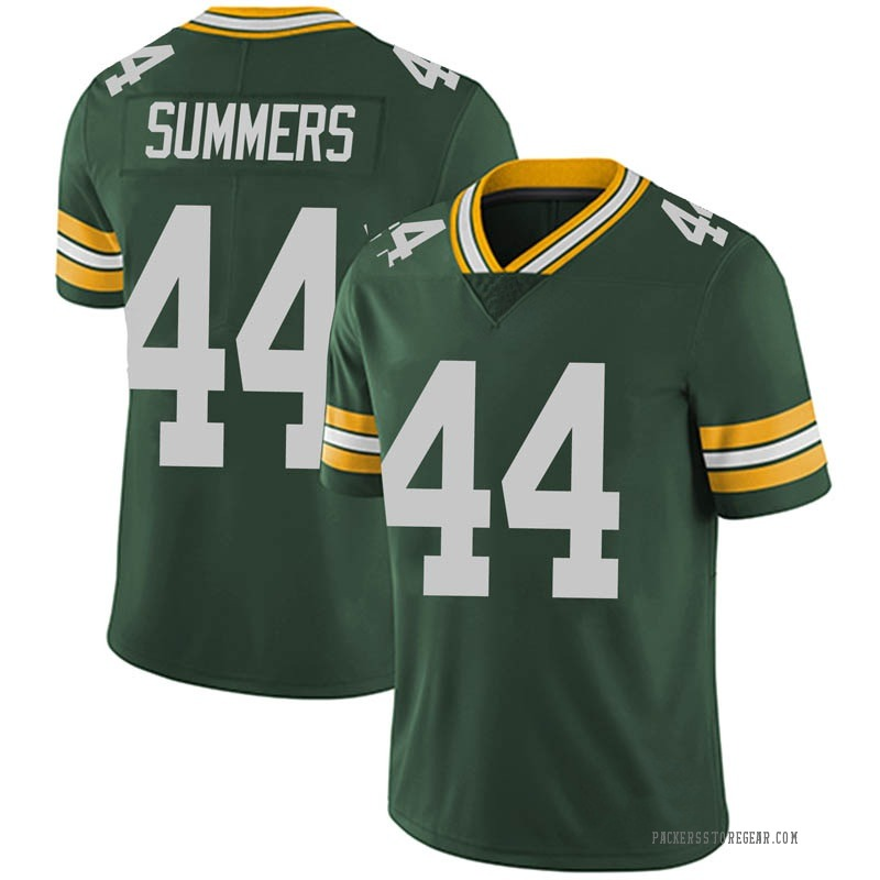 Youth Green Bay Packers Ty Summers Green Limited Team Color Vapor Untouchable Jersey By Nike